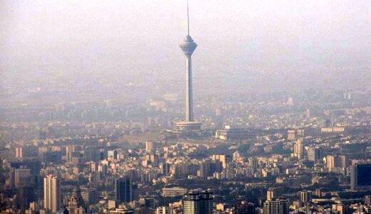 هوای تهران، ناسالم برای گروههای حساس