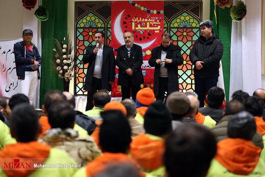 شب زنده داران یلدا - اصفهان