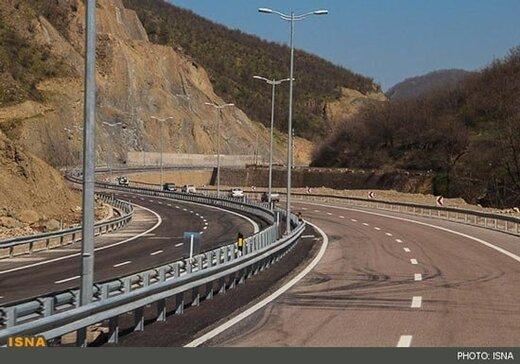 ساخت قطعه یک آزادراه تهران-شمال به اتمام رسید