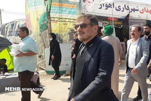 علی شمخانی از مناطق آبگرفته کوت عبدالله بازدید کرد