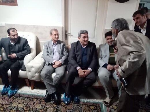 شهردار تهران شب چله را با چه کسانی گذراند؟