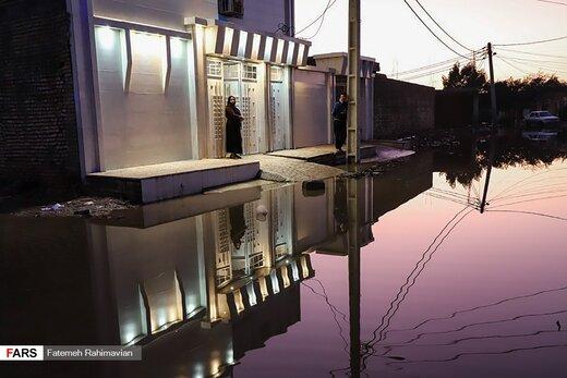 محلات اهواز؛ همچنان در محاصره آب