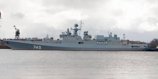 کشتی جنگی روسیه عازم منطقه شد