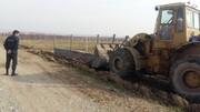 تخریب ۱۳ مورد ساخت و ساز غیرمجاز در اراضی کشاورزی کرج