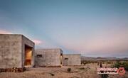 خانه مدرن و عجیبی که درست در وسط بیابان ساخته شده است! +تصاویر