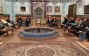 دیدار ظریف با فعالان اقتصادی عمان/عکس