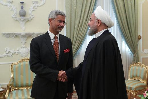 دیدار وزیر خارجه هند با رئیس جمهور