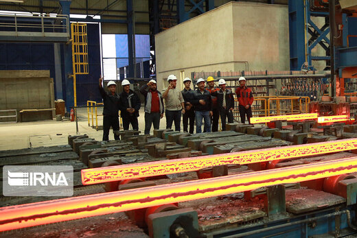 Iran tops in World Steel Association production list