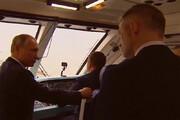 فیلم | پوتین طولانیترین پل ریلی اروپا را بین روسیه و کریمه افتتاح کرد
