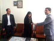 ايرانية تحفظ القرآن الكريم وترجمتها الفارسية خلال 110 يوم