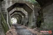 در این تونل هشت ضلعی غریب انگار در جهانی موازی به سر میبرید! +تصاویر