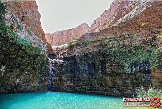 کشیت، آبشار انتزاعی و بی نظیر کرمان!