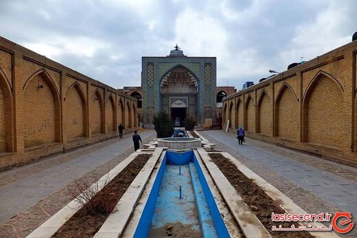 مسجد النبی، جاذبه بی مانندی که در قزوین خفته است!