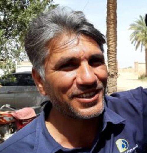 مرگ مظلومانه راننده جرثقیل هنگام دفع آبگرفتگی در اهواز