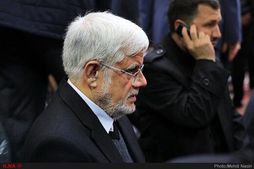 تسلیت محمدرضا عارف به پروانه سلحشوری