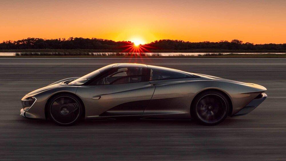 مک لارن اسپیدتیل نهایت سرعت ۴۰۳ کیلومتربرساعت را ثبت کرد