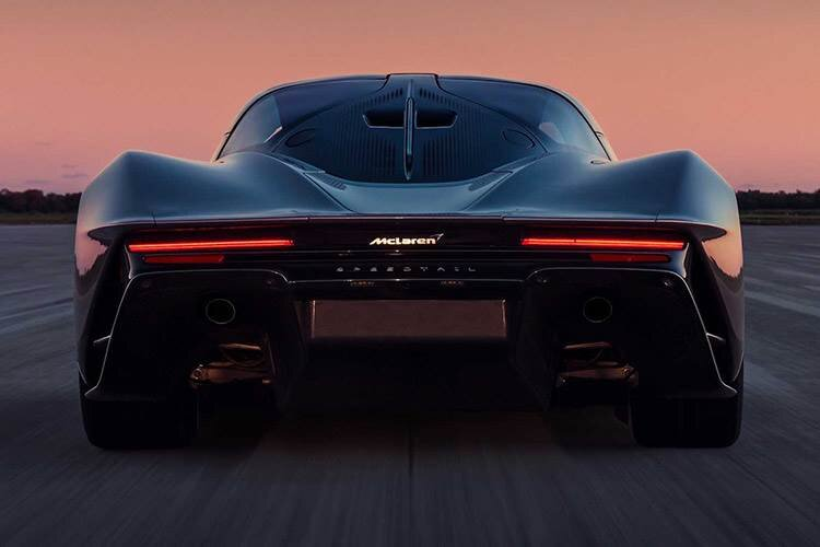 McLaren Speedtail / مک لارن اسپیدتیل