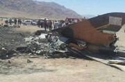 سقوط یک فروند هواپیما در اردبیل/ امدادگران اعزام شدند