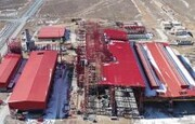 سفیددشت رکورددار تولید در بین طرح های هفتگانه فولادی