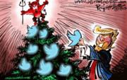 درخت کریسمس ترامپ را ببینید!