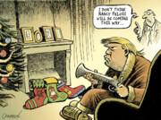 ترامپ در کمین برای شکار نانسی!