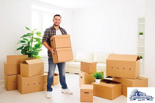 باربری معتبر برای بسته بندی و حمل اثاثیه منزل