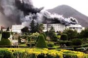 جدیدترین تصویر از آتش سوزی در هتل رامسر