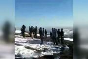 فیلم | جستجو برای پیدا کردن لاشه هواپیمای سقوط کرده و خلبانش در ارتفاعات ساوالان