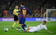 فاش شدن راز مهار مسی توسط مدافع رئال مادرید