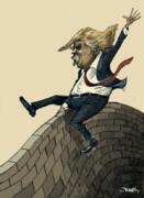 اینم گاوبازی ترامپ با دیوار مرزی!