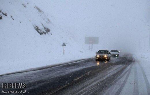رانندگان احتیاط کنند؛ جادهها لغزنده است