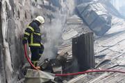ببینید | تصاویری از عملیات شجاعانه یک سرهنگ و یک آتش نشان برای نجات دادن هتل و سینمای تاریخی رامسر
