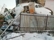 سقوط مرگبار هواپیمای مسافربری با ۱۰۰ سرنشین در قزاقستان