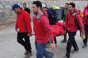 خروج مرد ۴۵ ساله از حادثه بهمن توچال