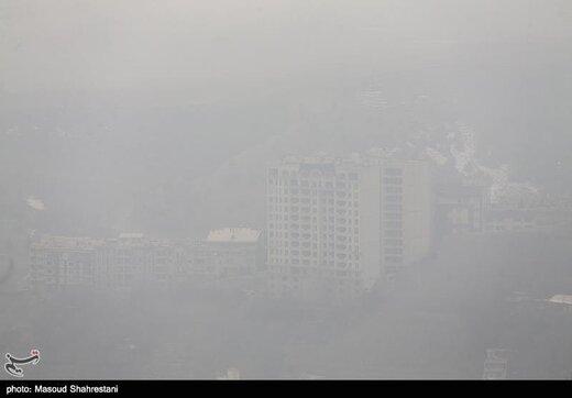 آلودگیهوا در کدام مناطق تهران خطرناکتر است؟