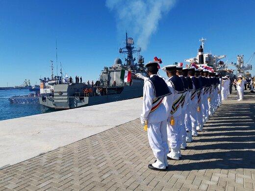محلل بريطاني: رسالة المناورات البحرية الثلاثية تفيد بان النفوذ الاميركي يتضاءل