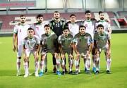 تساوی تیم ملی امید مقابل قطر در ثانیه پایانی