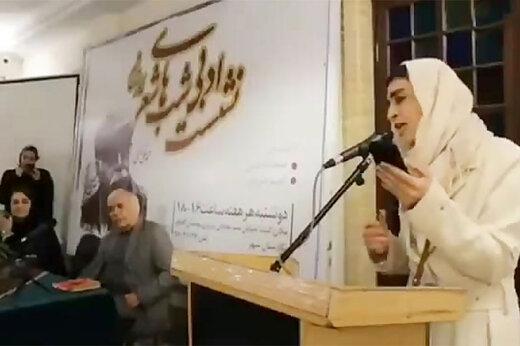 ببینید   حمله به مهناز افشار ، تمسخر شعرخوانی اندیشه فولادوند و متلک به اخبارگوی ورزشی در بسته فرهنگی رسانه ملی!