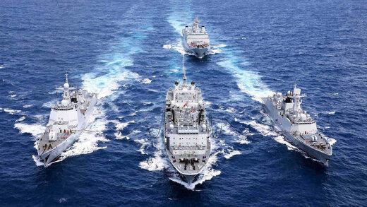 الصين: المناورات المشتركة مع ايران وروسيا لضمان السلام الدولي