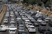 ترافیک سنگین در آزادراه قزوین_کرج_تهران