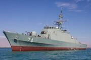 فیلم   تیراندازی ناوهای ایران، روسیه و چین در دریای عمان