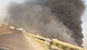 بیانیه آمریکا درباره بمباران مواضع حشدشعبی