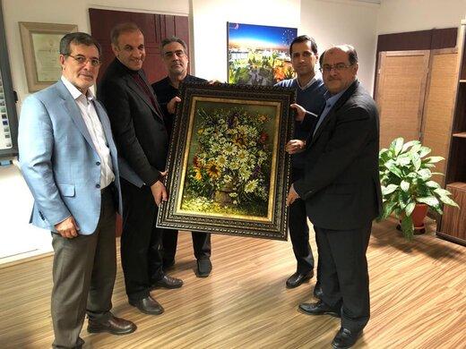 تقدیر مدیران انجمن پالایشگاه های روغن سازی ایران از عملکرد موفق مهندس اسحاقی