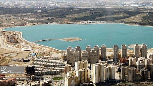 گود رها شده در کنار دریاچه خلیج فارس تهران ایمنسازی شد