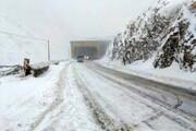 بارش برف برای ارتفاعات البرز پیشبینی شد