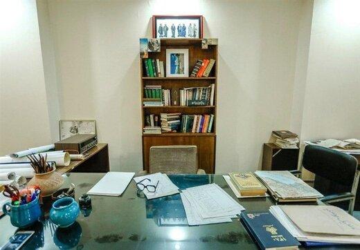 کتابخانه نادر ابراهیمی موزه شد