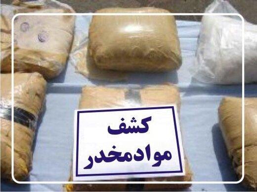 زمین گیر شدن سوداگران مرگ با ۲۹۰ کیلوگرم تریاک در اصفهان