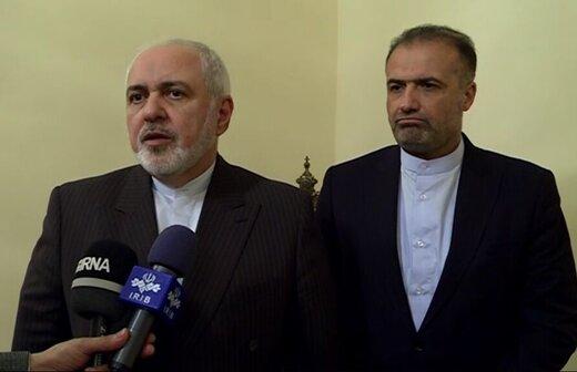 ظريف: روسيا والصين شريكتان استراتيجيتان لإيران