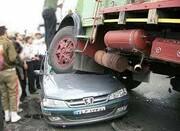 مرگ دلخراش و همزمان ۳ جوان زیر چرخ های کامیون