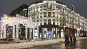 شهرداری مسکو به برف مصنوعی متوسل شد